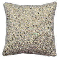 Sequins 12x12 Pillow, Gold