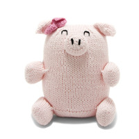 Hand-knitted Chubby Cotton Piggy