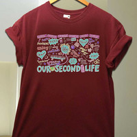 Our Second Life O2L for T Shirt unisex adult