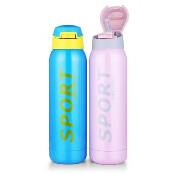 Thermos Tumbler Thermo Mug Stainless Steel Insulated Vacuum flask Cup With Straw Drink Bottle for Water Sport Keep Coffee Mugs