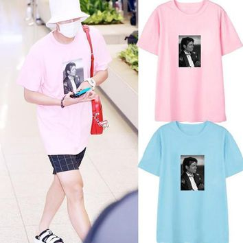 762250f67 Michael Jackson Photo Tee Box logo Tee Rock N Roll Skateboard T-