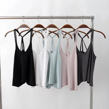 Shiny New Arrival Jewelry Gift Stylish Summer Sexy Backless Camisole Ring [6332317700]