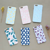 Flower Pattern iPhone 6 Case