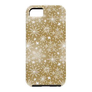 Heather Dutton Snow Squall Guilded Cell Phone Case