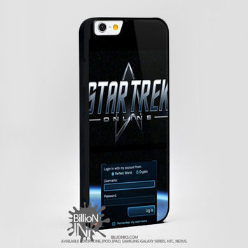 Star Trek Login For Apple, Iphone, Ipod, Samsung Galaxy Case