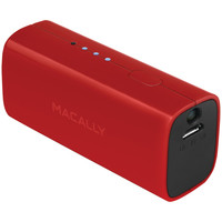 Macally 2600mah Battery Charger For Iphone Ipod & Smartphones