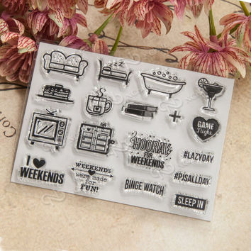 NCraft Clear Stamps N1056 Scrapbook Paper Craft Clear stamp scrapbooking