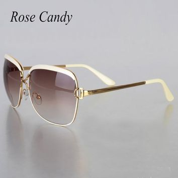 Popular Fashion Shades Sun Glasses Newest Women Brand Designer Sunglasses Infantil UV400 Cateye Classic Retro Party Female 2017