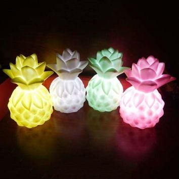 Led Pineapple Night Light Cloud Table Lamp