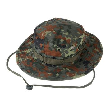 New Arrival Men Women Unisex Outdoor Hiking Cap Hunting Hat Military Cap Outdoor Wide Bucket Hats Free Shipping
