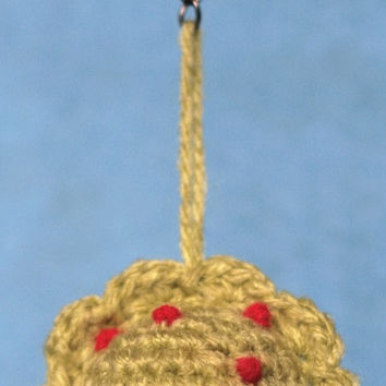 Elfin Thread - Apple Tree Amigurumi Keychain Keyring (Tree Crochet PDF Pattern)