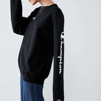 Champion & UO Powerblend Crew-Neck Sweatshirt | Urban Outfitters