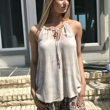 Luna Tie Dye High Neck Top by Others Follow