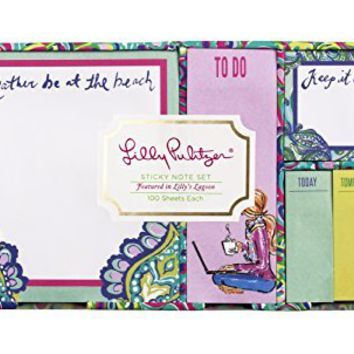 Sticky Note Set, Lagoon (154513)