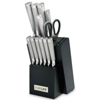 13pc Cutlery Ss Knife Block