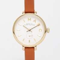 Marc By Marc Jacobs MBM1351 Brown Sally Leather Watch