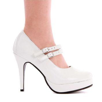 Ellie Shoes E-421-Jane 4 Double Strap Mary Jane