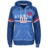 Majestic New York Giants Tame the Tide Fleece Hoodie - Women's, Size: