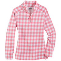 POPPY PULLOVER PINK GINGHAM