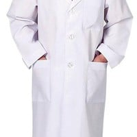 Adult Lab Coat, 3/4 Length, size LARGE