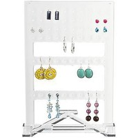 Acrylic Earring Organizer | The Container Store