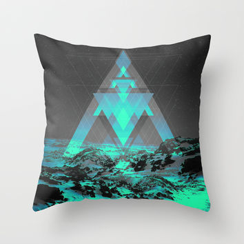 Neither Real Nor Imaginary II Throw Pillow by Soaring Anchor Designs
