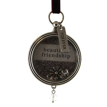Holiday Ornament BEAUTIFUL FRIENDSHIP KEEPSAKE LOCKET Christmas 2020140993