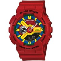 Casio G-Shock Men's Red Analog Digital Watch Ga-110Fc-1A