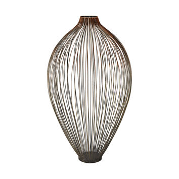 3200-046 Thrum 23-Inch Vase In Copper Ombre