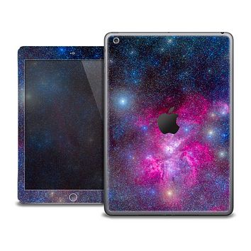 The Pink & Blue Galaxy Skin for the iPad Air