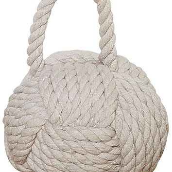 Knot Door Stop - Rope Knot Door Stop - Decorative Door Stops | HomeDecorators.com