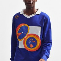 Lucid FC Clockwork Heritage Knit Rugby Shirt   Urban Outfitters