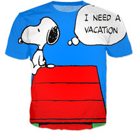 Snoopy need a vaction