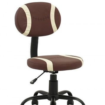 New Football Office Desk Computer Chair Massage Stool Clerk Task 3080