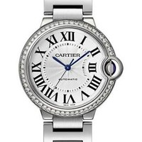 cartier silver watch - Google Search