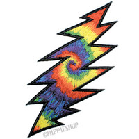 Grateful Dead - Lightning Bolt X-Large Patch on Sale for $7.99 at HippieShop.com