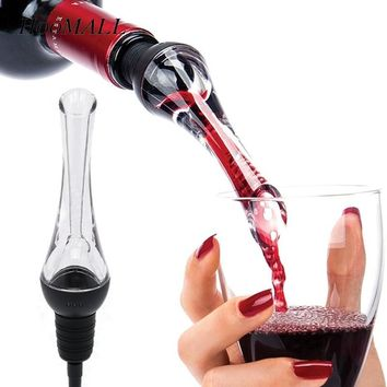 Hoomall Mini Wine Aerator Red Wine Whiskey Magic Aerator Decanter Acrylic Wine Pourer Spout Quick Aerating Kitchen Bar Tools