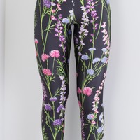 Collecting Wildflowers Leggings