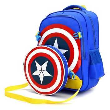 DCCKL72 ZIRANYU Cartoon combination backpack children schoolbag school student book bag boy kids girl bags Multi Colors Children Mochila