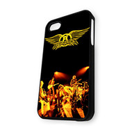 Aerosmith Rock Band Logo iPhone 5/5S Case