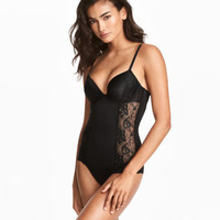 H&M Firm Shaping Push-up Bodysuit $34.99