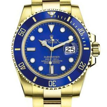 Rolex Watch Personalized luxury global Rolex watches Blue