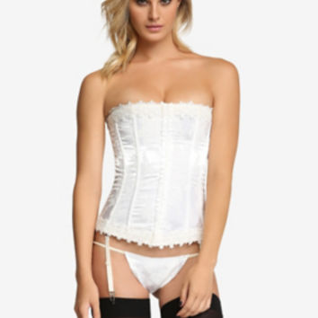 Embroidered Tapestry Corset