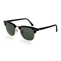 Ray-Ban Sunglasses, RB3016 49 Clubmaster - Sunglasses - Men - Macy's