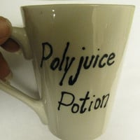 Polyjuice Potion Mug by EcologicEpilogue on Etsy