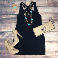 BEYOND YOUR DREAMS DRESS - BLACK