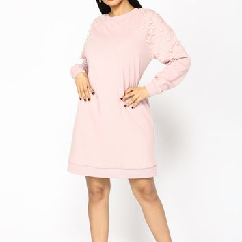 Show Me Those Pearly Whites Tunic - Rose