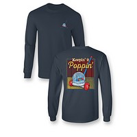 Sassy Frass Keepin it Poppin Comfort Colors Long Sleeve Bright Girlie T Shirt
