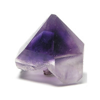 Deep Purple Phantom Amethyst Quartz Crystals from Morocco Clear and Frosted Faces  Wear it or Display it