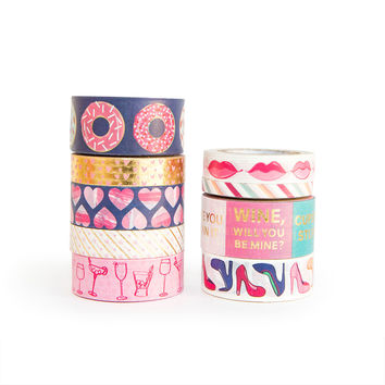 Galentine's Day Trendy Washi Tape Tube By Recollections™